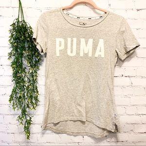 Grey Puma T-Shirt Perfect Condition